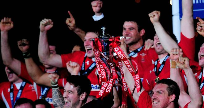 Wales retained the Six Nations title for the first time since 1979