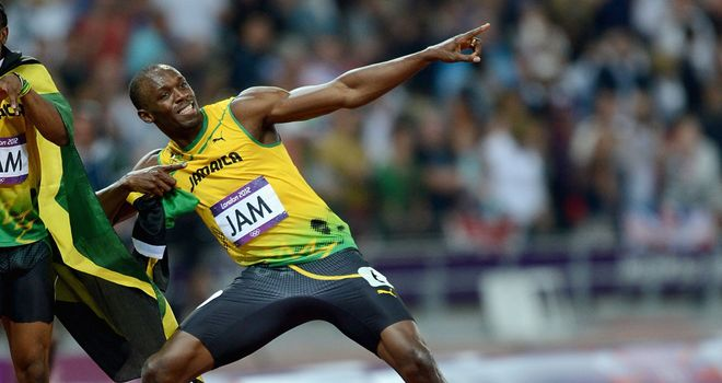 Usain Bolt: Will compete in the 100m and the sprint relay in London.