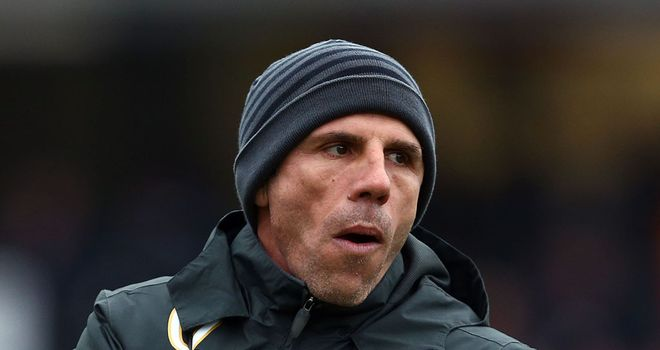 Gianfranco Zola: Incensed by referee decision