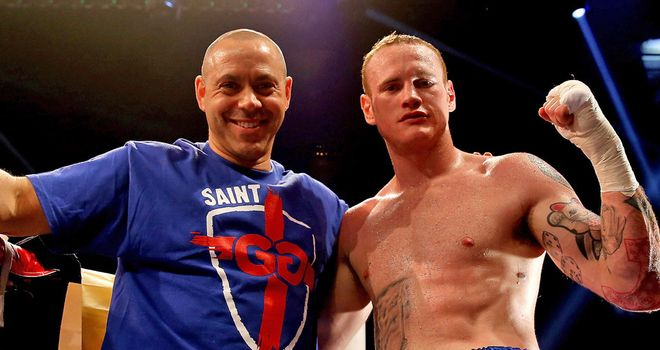 Adam Booth: 'So confident' of George Groves' success