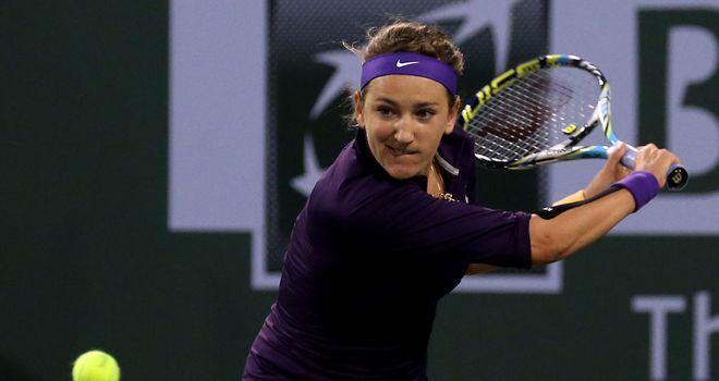 Victoria Azarenka: Stays on course in Indian Wells