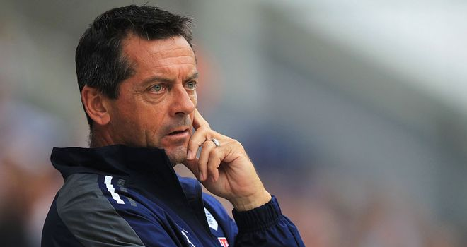 Phil Brown: Has a lot to ponder