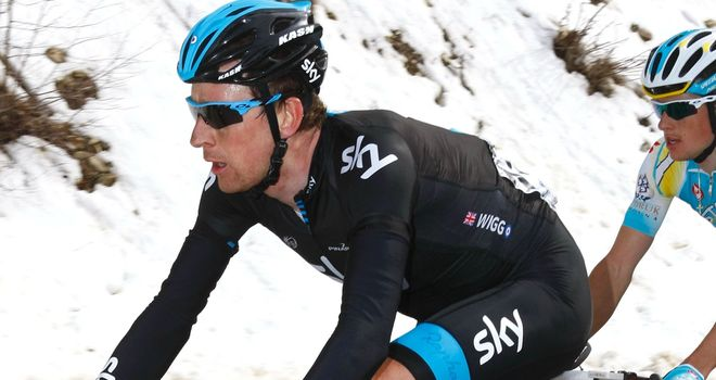 Bradley Wiggins finished fifth at the Volta a Catalunya