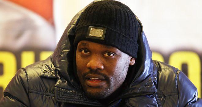 Dereck Chisora: Has regained his British licence