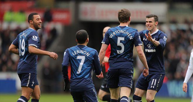 Gareth Bale: Celebrates excellent second goal