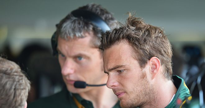 Giedo van der Garde: Carries a grid penalty to Silverstone