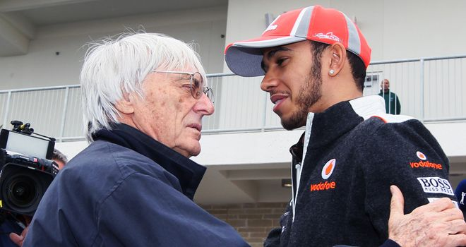 Bernie Ecclestone: Disappointed to see team orders imposed in race two