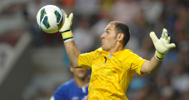 Kamran Agayev: Made several fine saves for Azerbaijan
