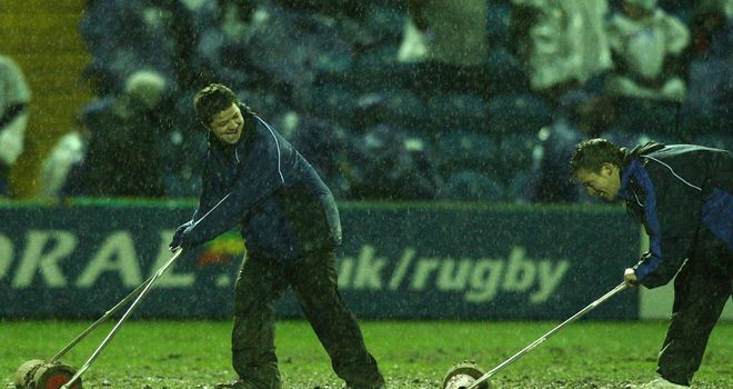Treviso's clash with Connacht on Saturday night postponed due to a waterlogged pitch