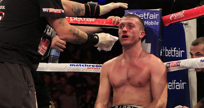 Scott Cardle: Has endured a frustrating year (Pic Lawrence Lustig)