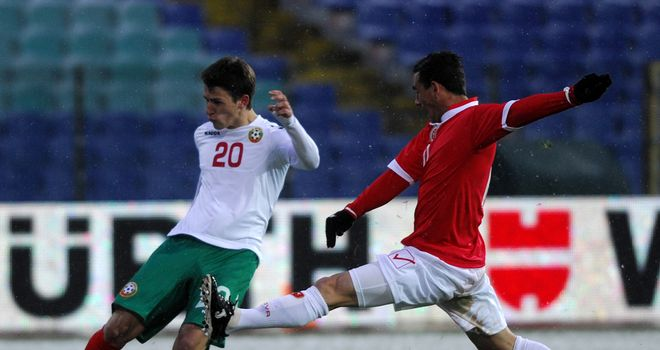 Aleksandar Tonev: Scored a hat-trick for Bulgaria against Malta