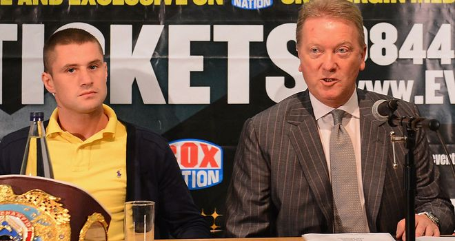 Ricky Burns and Frank Warren: Split set to end in court
