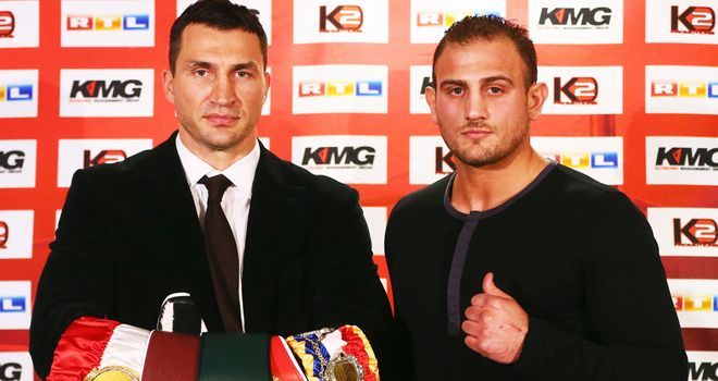 Wladimir Klitschko: Defends his three titles against Francesco Pianeta.
