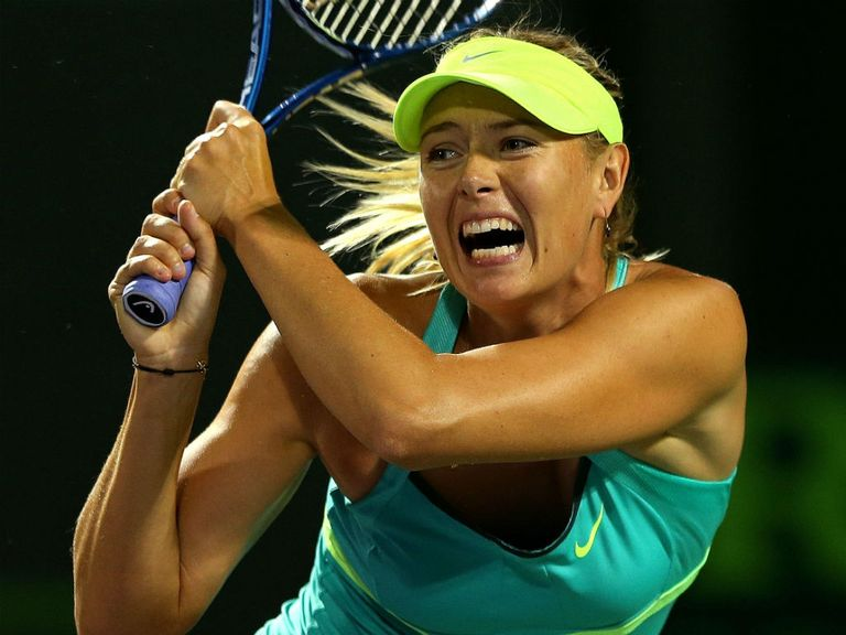 Maria Sharapova: Booked semi-final spot
