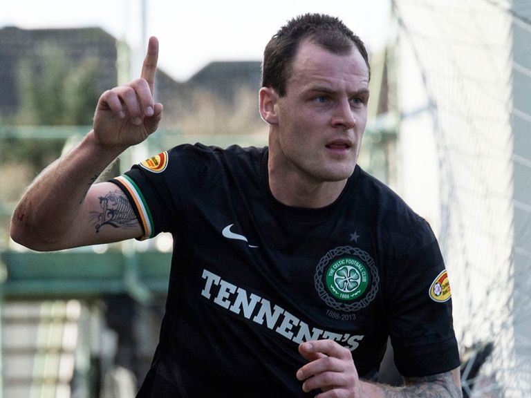 Anthony Stokes: Hoping to win a new deal at Celtic