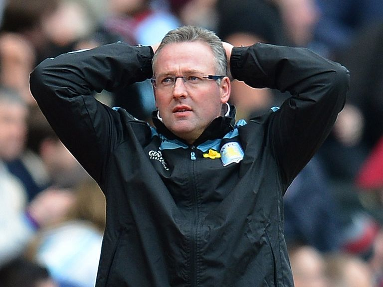 These are worrying times for Paul Lambert and Villa