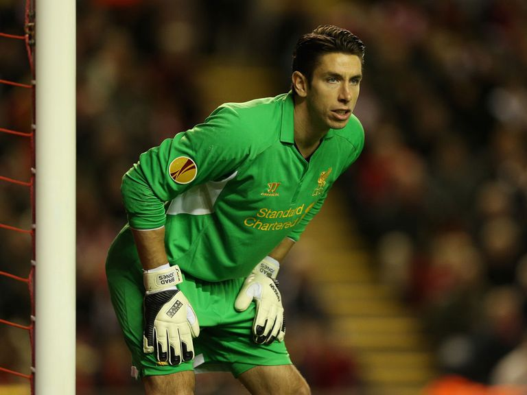 Brad Jones: Deputy to Pepe Reina at Liverpool