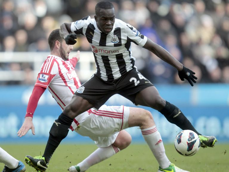 Cheick Tiote: Will wear shirt carrying Wonga sponsor loga