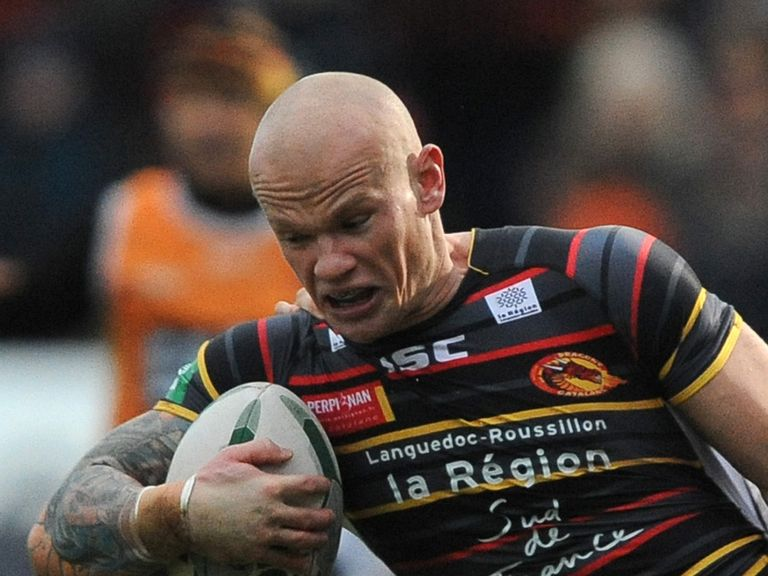 Damien Blanch: Back for Catalan Dragons against Leeds