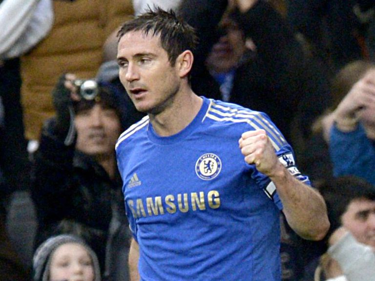 Lampard: Labelled as 'unbelievable' by Sir Alex Ferguson