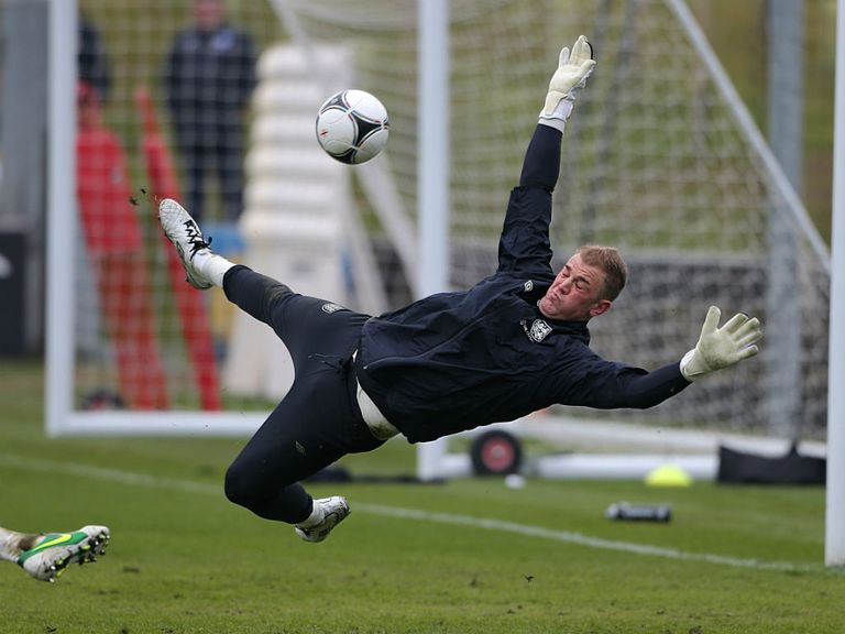 Joe Hart: Impressed with goalkeepers in England squad