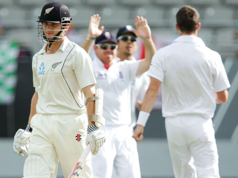 Kane Williamson fell early on day two