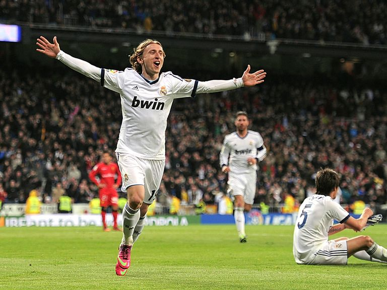 Luka Modric: Happy to stay at Real Madrid