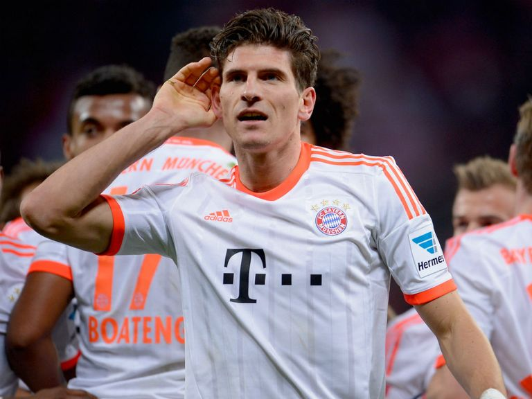 Mario Gomez: Continues to be linked with a move away from Bayern Munich