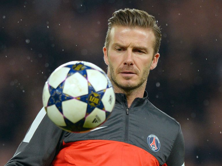 David Beckham: Will combine new role with playing for Carlo Ancelotti's PSG