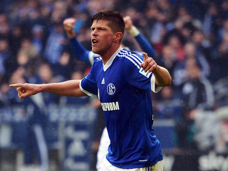 Klaas-Jan Huntelaar: On the scoresheet for Schalke