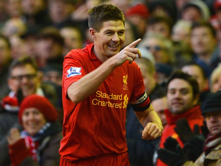 Steven Gerrard: Played every minute in the PL for Liverpool