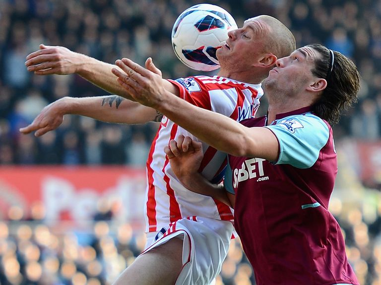 Andy Wilkinson: Keen to stay with Stoke