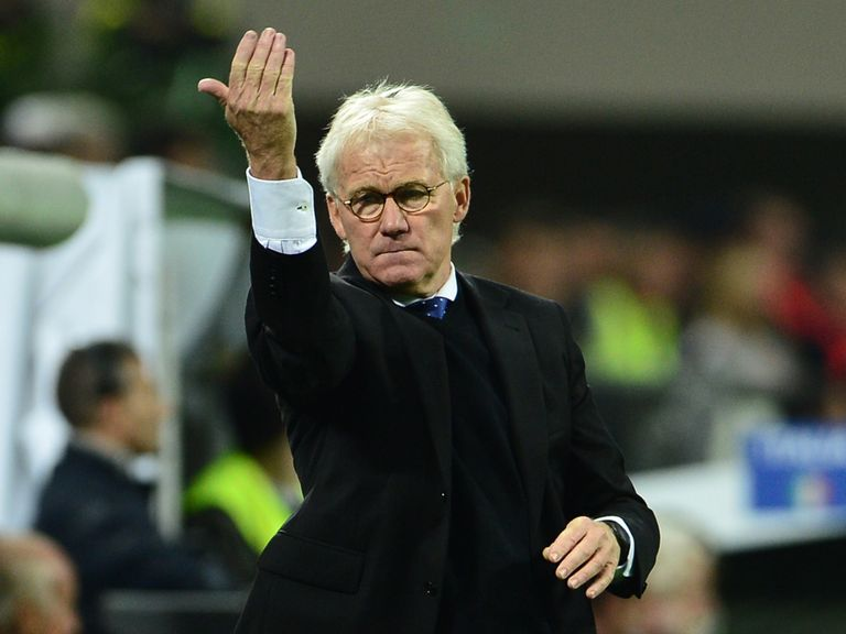 Morten Olsen: Impressed by Bulgaria