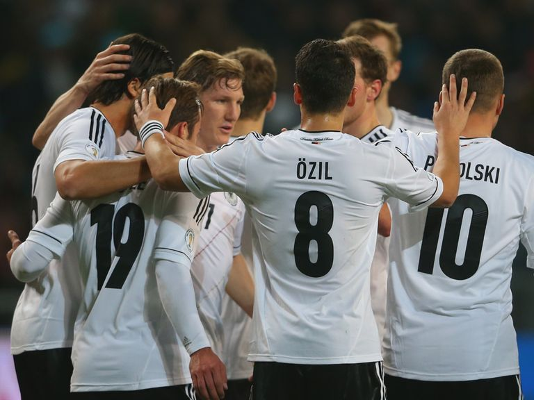 Bastian Schweinsteiger: Set for 100th appearance for Germany
