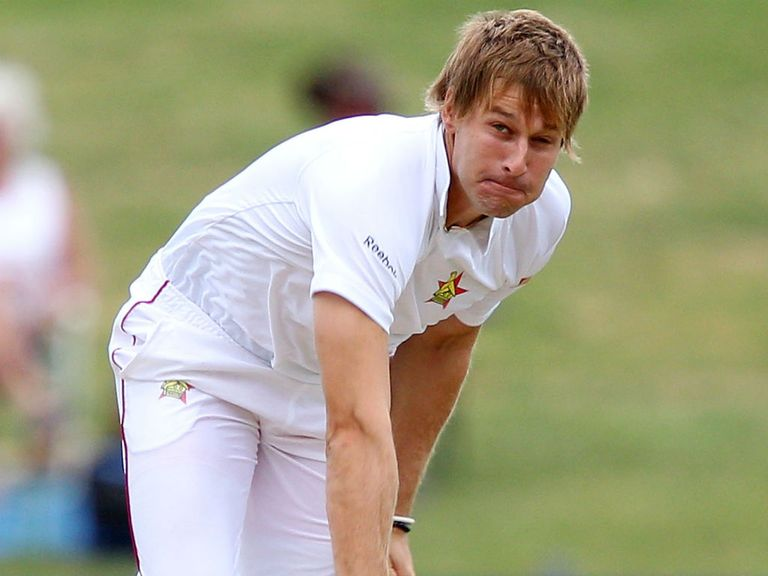 Kyle Jarvis: Key wickets for Zimbabwe