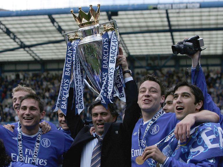 Will Jose Mourinho be celebrating with the Premier League title again.