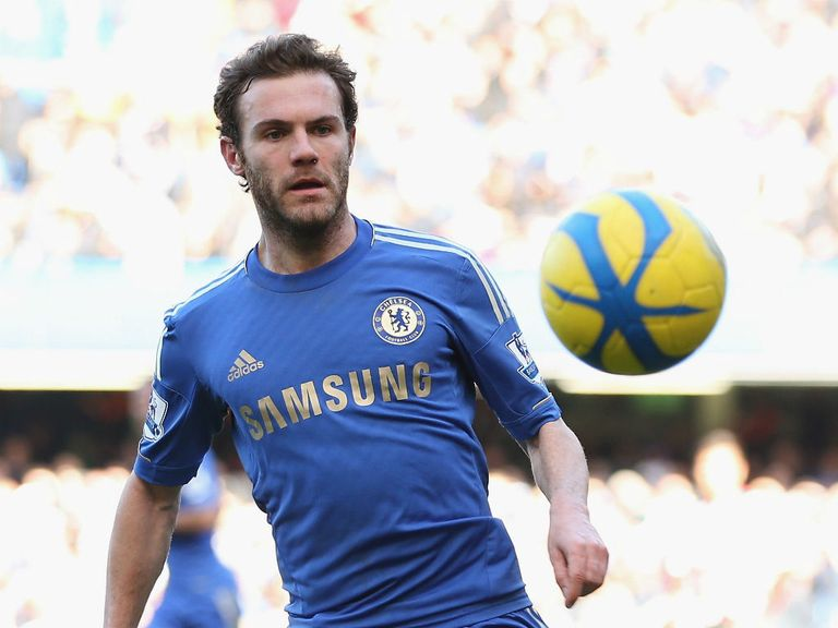 Juan Mata: Looks to be staying at Chelsea