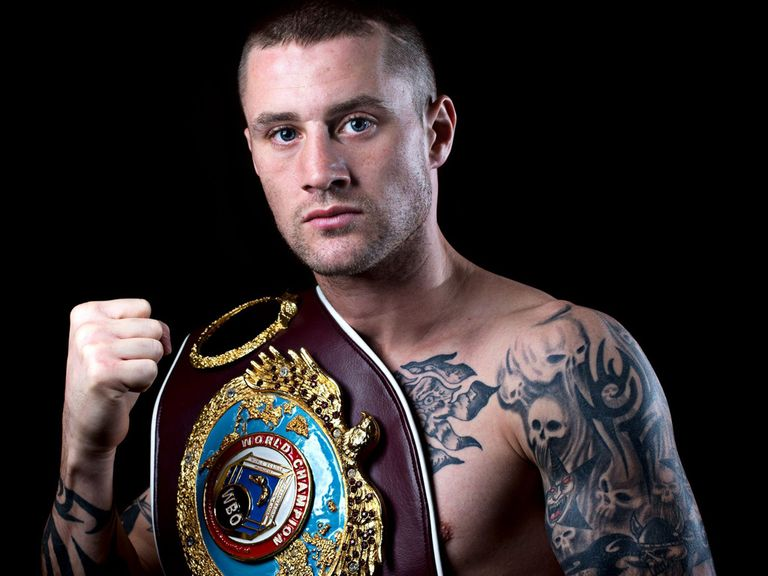 Ricky Burns: Will be fighting on home soil