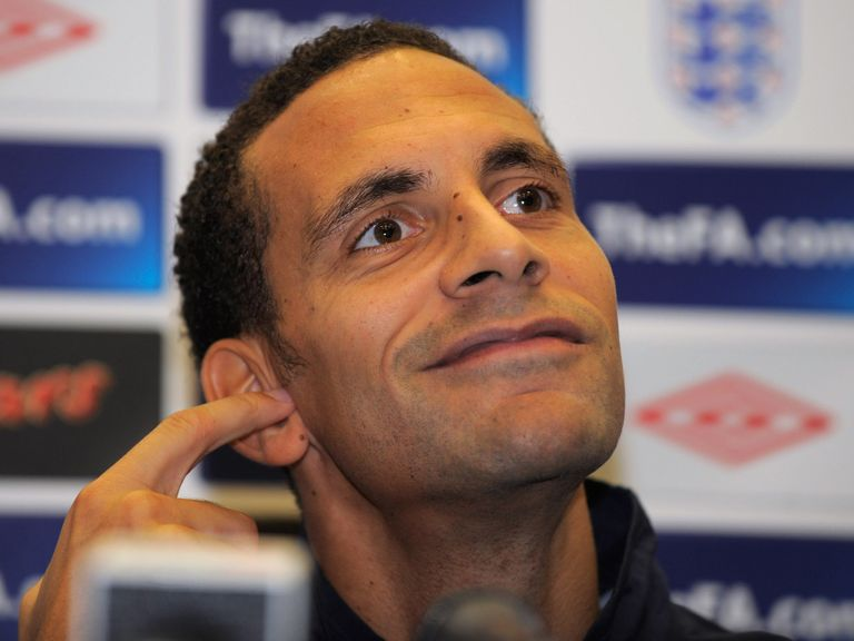 Rio Ferdinand: Out of the England squad