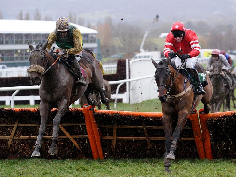 Ted Veale (left) can add an Ebor to his Cheltenham Festival win