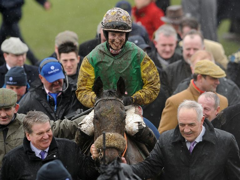 Ted Veale returns in glory after last year's County Hurdle
