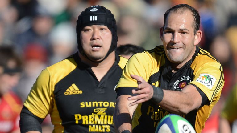 Fourie Du Preez (right): Back in Boks fold