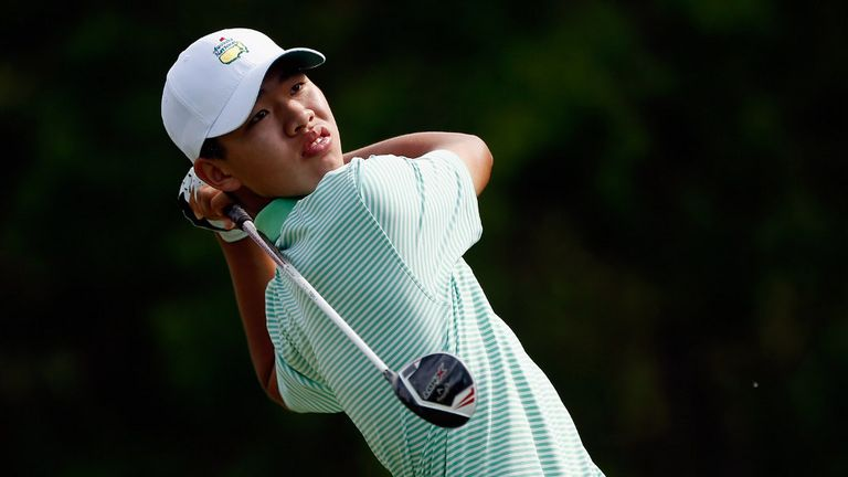 Guan: 14-year-old has caught the eye, but must focus on schooling