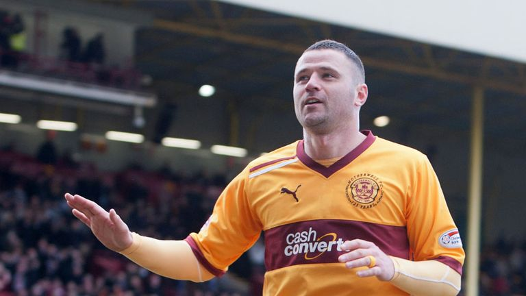 Michael Higdon: The Motherwell striker hopes events off the pitch do not overshadow his PFA Scotland Player of the Year award