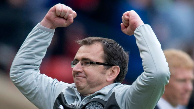 Pat Fenlon: His Hibernian side face Celtic in the Scottish Cup final next Sunday