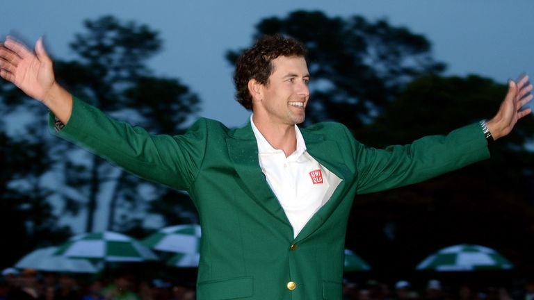 Scott: Became the first Australian to win the Masters