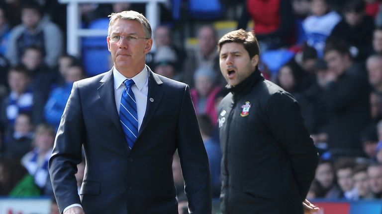 Nigel Adkins: says Reading will continue to fight for the remainder of the season