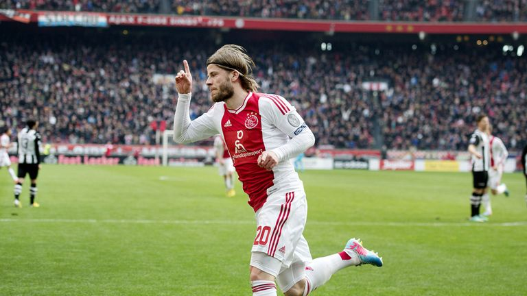 Lasse Schone: Scored two for Ajax