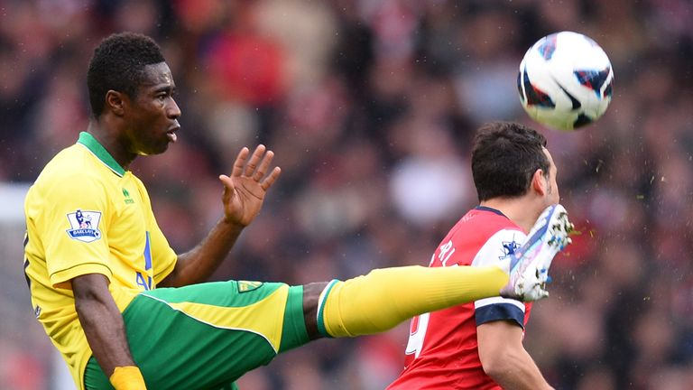 Alex Tettey: Looking to bounce back from Arsenal loss