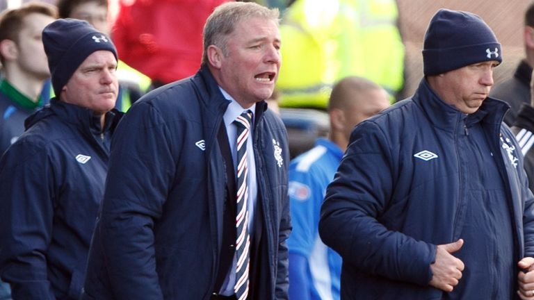 Ally McCoist: Believes Rangers needs to be 'totally cleansed'